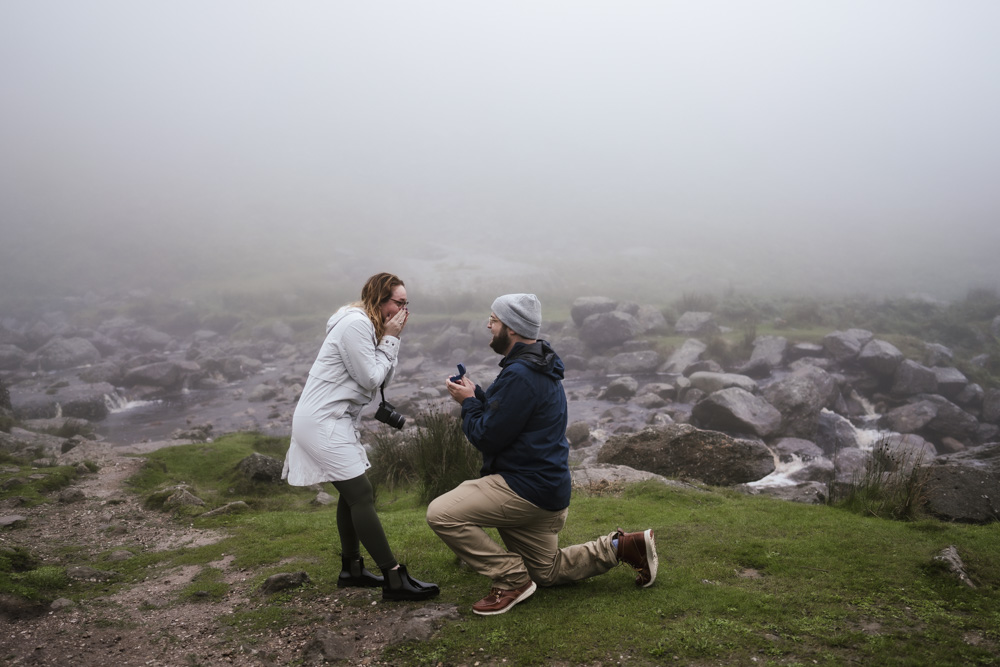 Wedding Engagement Photographer Mahon Falls Waterford Ireland